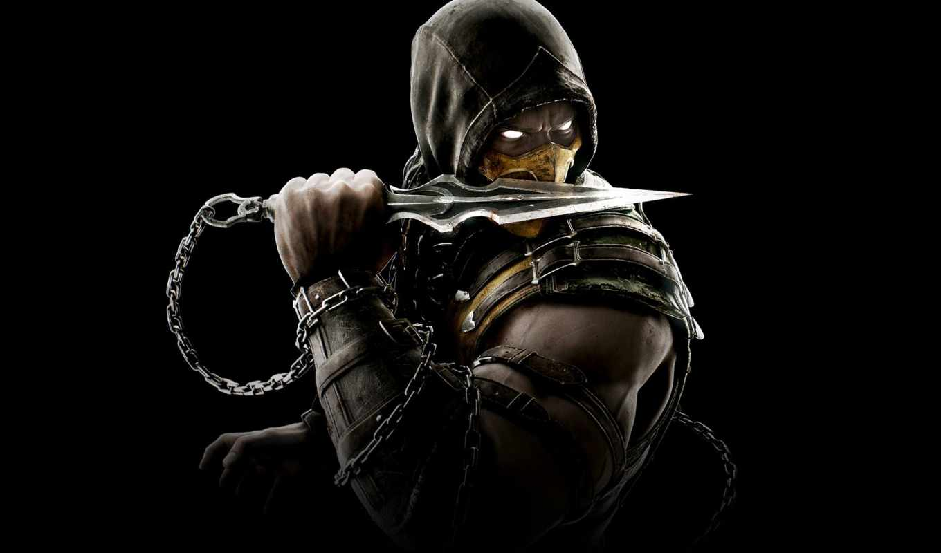 kombat, mortal, scorpion, техника,