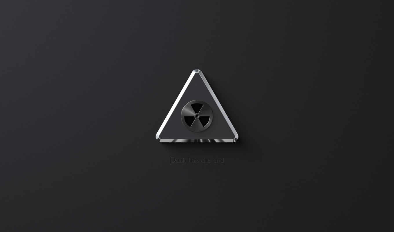 радиация, чёрно, минимализм,