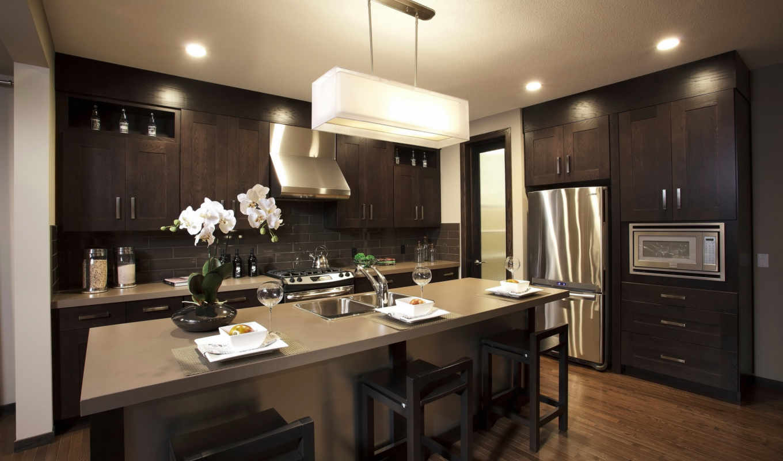 кухни, design, стиле, современном, kitchen,