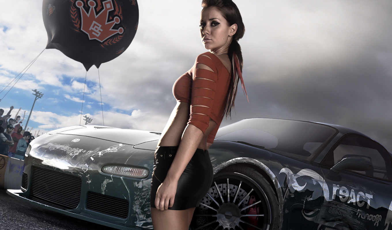 speed, need, prostreet, girl, игра, гонки, games, игры, car, video, nfs, картинку, with,