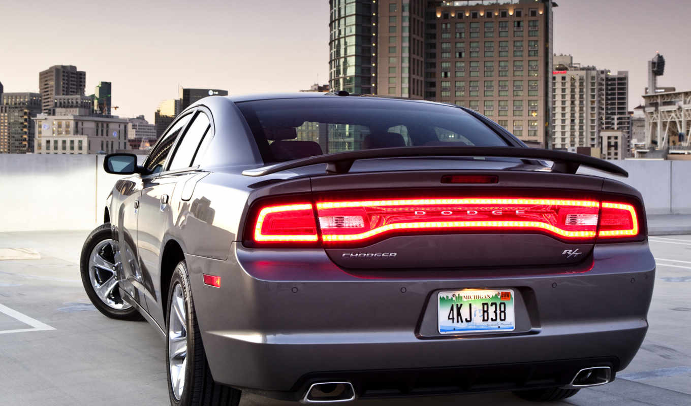 dodge, charger, rear, new, review, led, picture, car, silver, đèn,