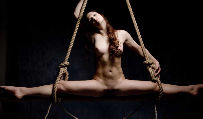 ,обнаженная, great, шпагат, hanging, girls, веревки, киска, грудь, бдсм,