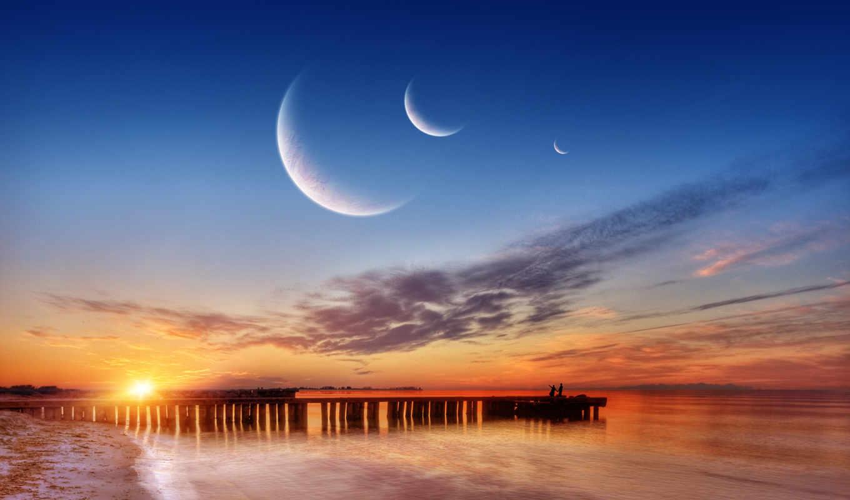 moons, три, you, free, desktop,