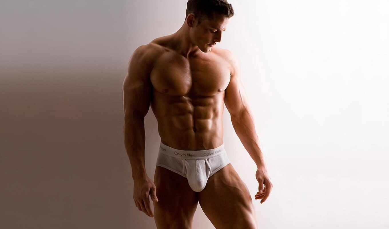тело, красивое, мужчина, торс, мужчины,