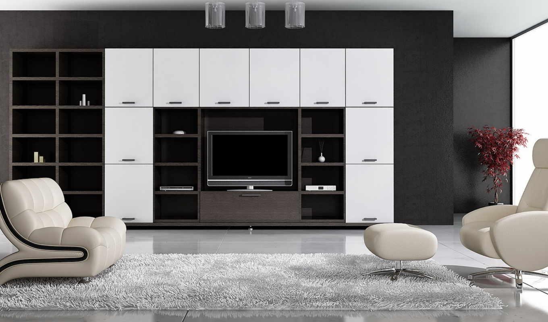 гостинная, комната, люстры, пуфик, ковёр, кресло, пол, шкаф,
