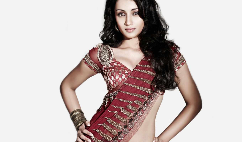 trisha, saree, krishnan, photos, джинсы,
