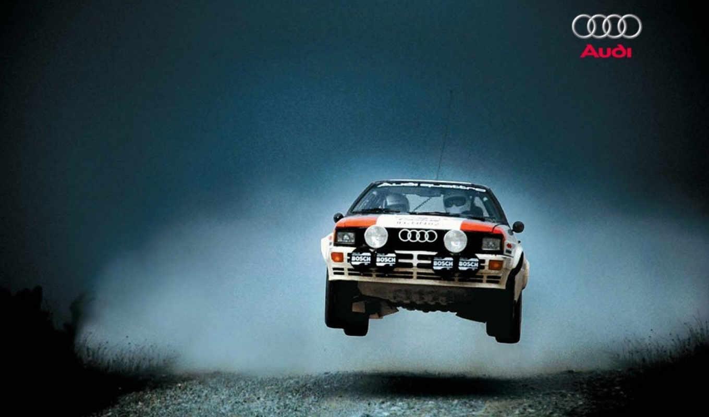 rally, car, ауди, quattro, прыжок, cars,