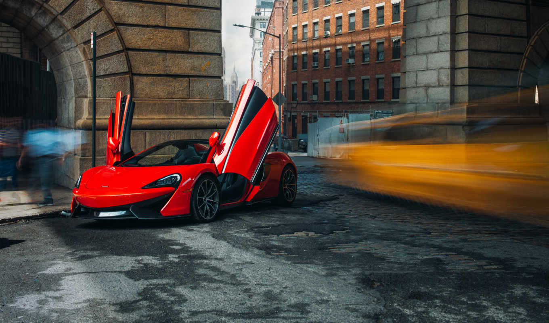 mclaren, spider, cars, red, car, 570s