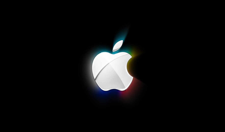 абстракция, black, нояб, свет, white, базе, высоком, apple, год, качестве,