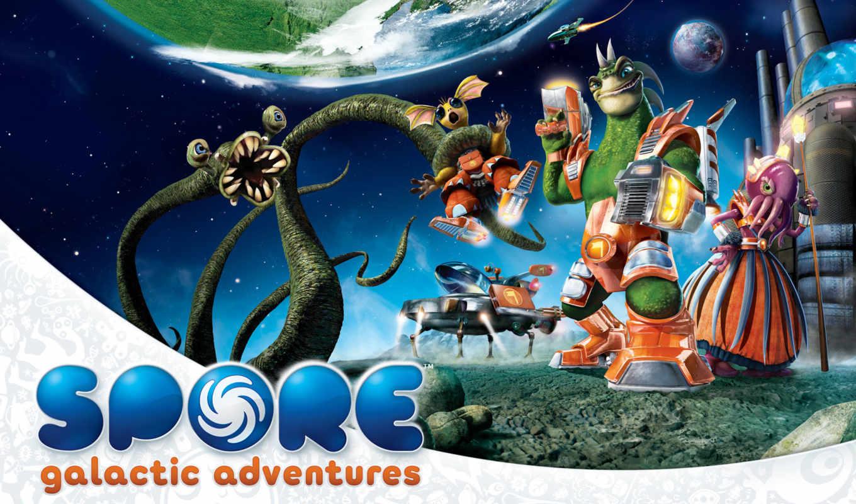 spore, galactic, adventures, приключения,