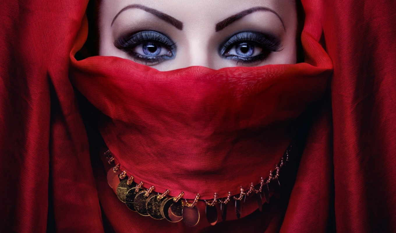 хиджаб, красивые, свет, mobile, testsoft, макияж, house, бесплатные,