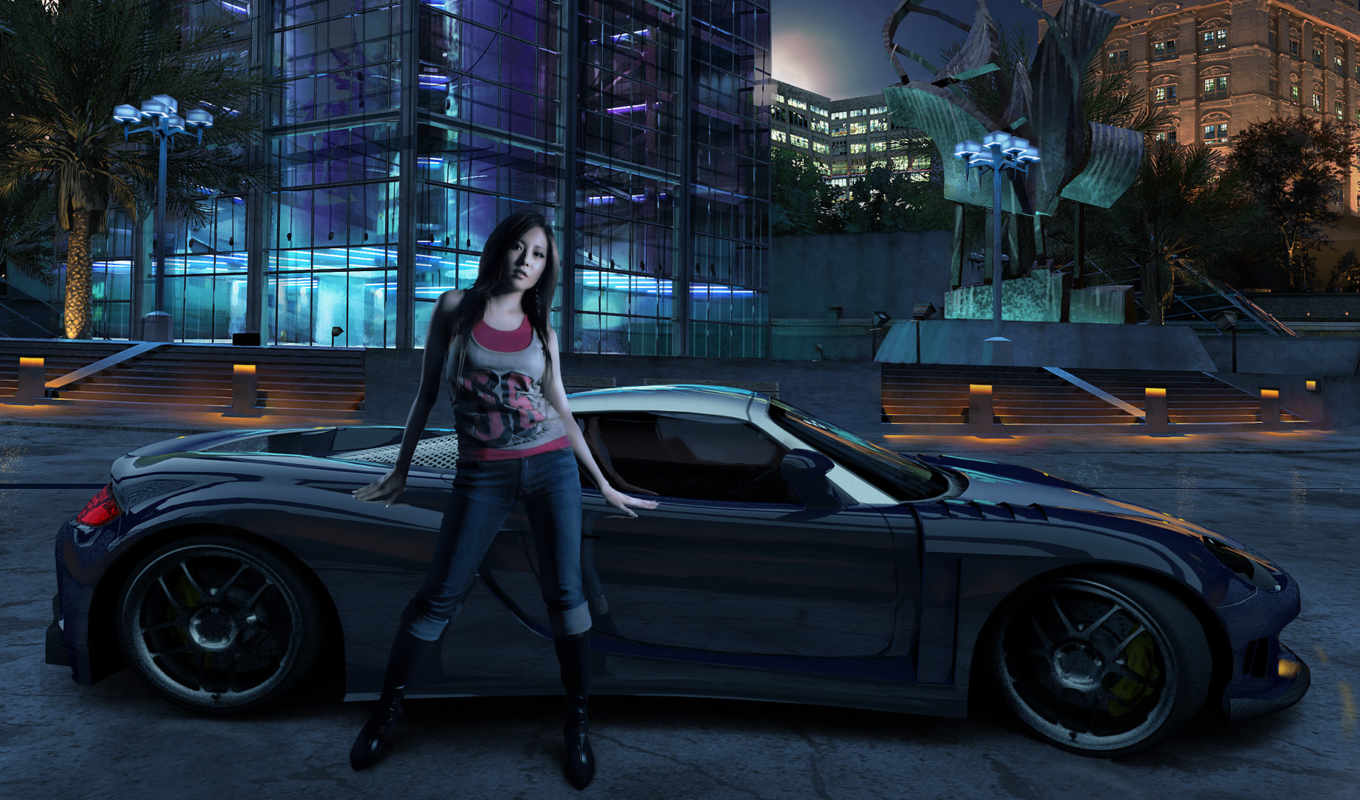 speed, need, carbon, games, girl, игра, cars, desktop, car, игры, free, background, widescreen,