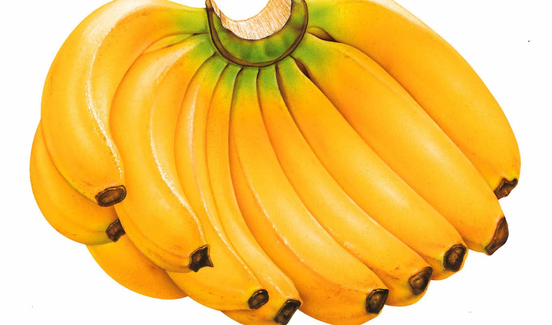 бананы, банан, они, то,
