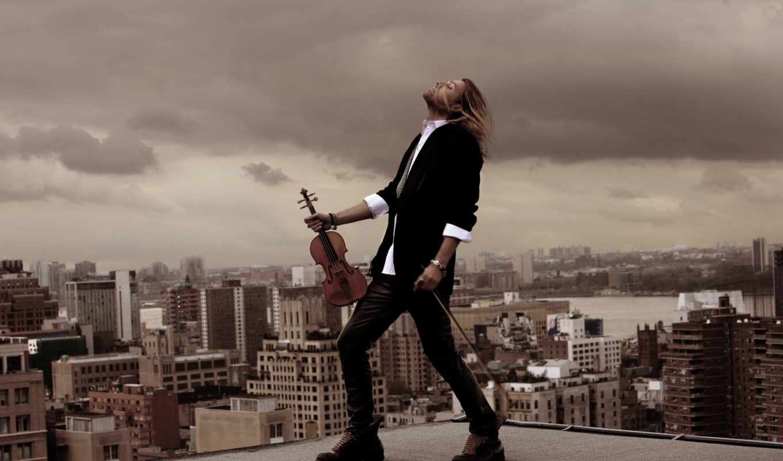 david, garrett, дэвид, гаррет, скрипач, крыша,
