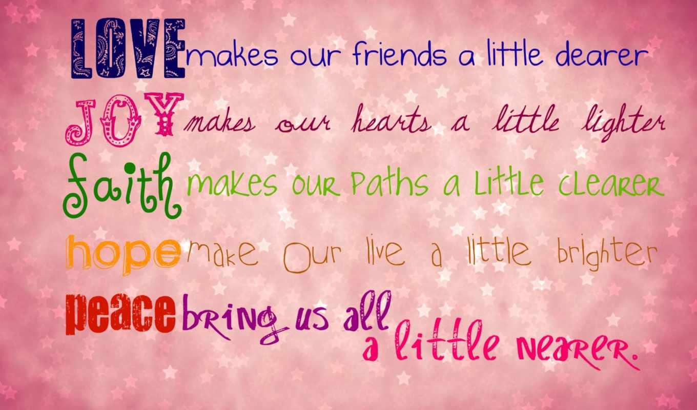 открытка, чувства, розовый, любовь, радость, честность, надежда, мир