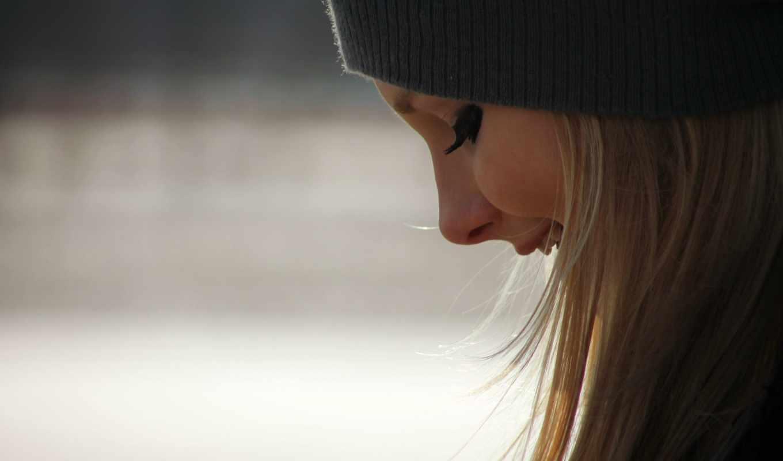 улыбка, лицо, волосы, меня,