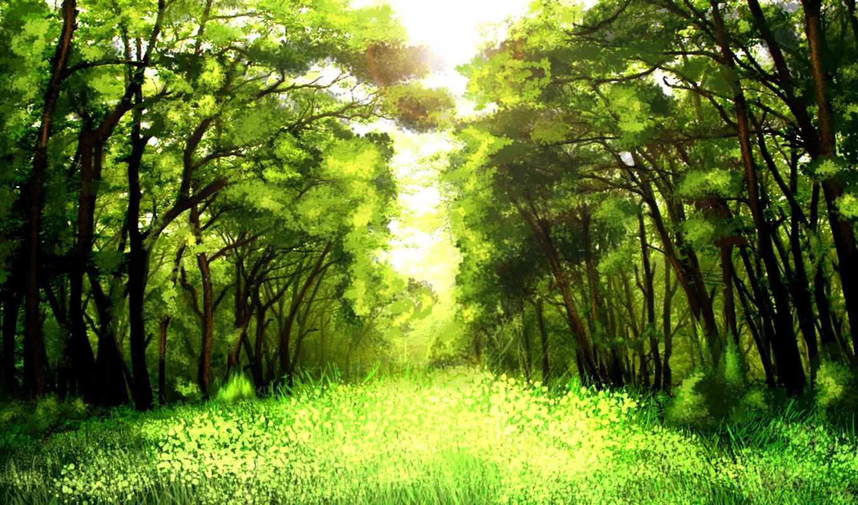 lyrics, лес, деревя, медведя, зелёный, весна, art, убийство,