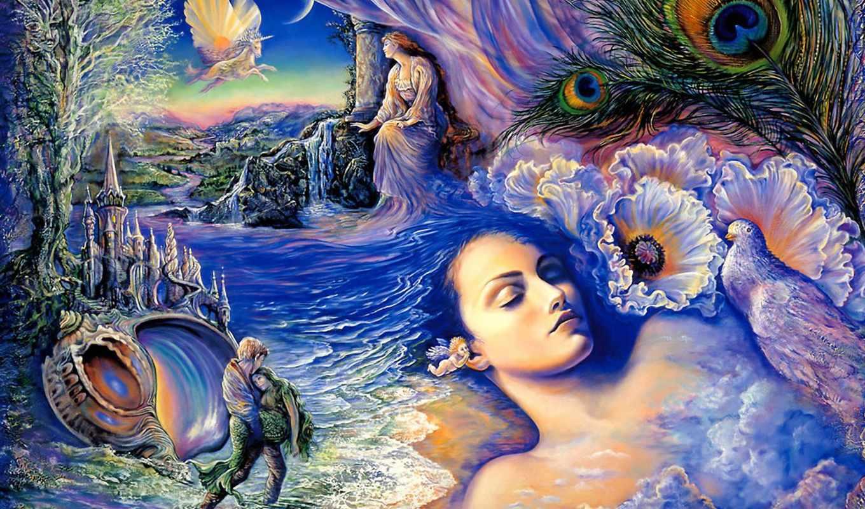 сказки, уолл, сказок, рисунки, рисунков, her, possible, josephine, зачарованные, картины, миры,