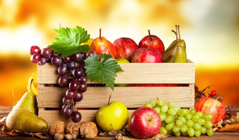 фрукты, производить, canvas, фруктов, овощей,