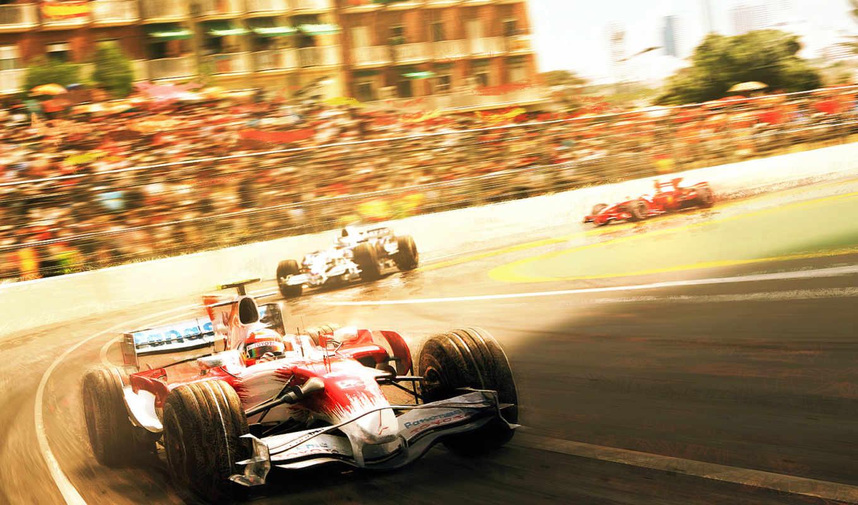 обои, formula, формула, спорт, cars, timo, toyota,
