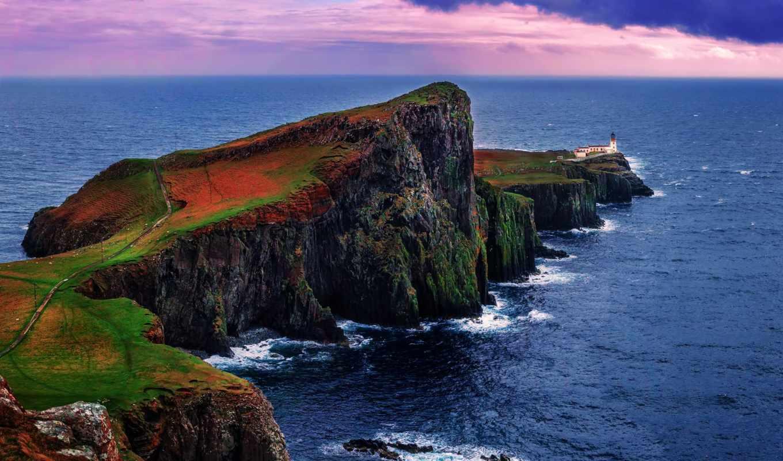 шотландия, остров, tall, разрешений, skye,