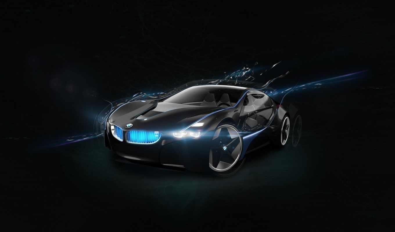 bmw, concept, машины, плакат, авто, vision,