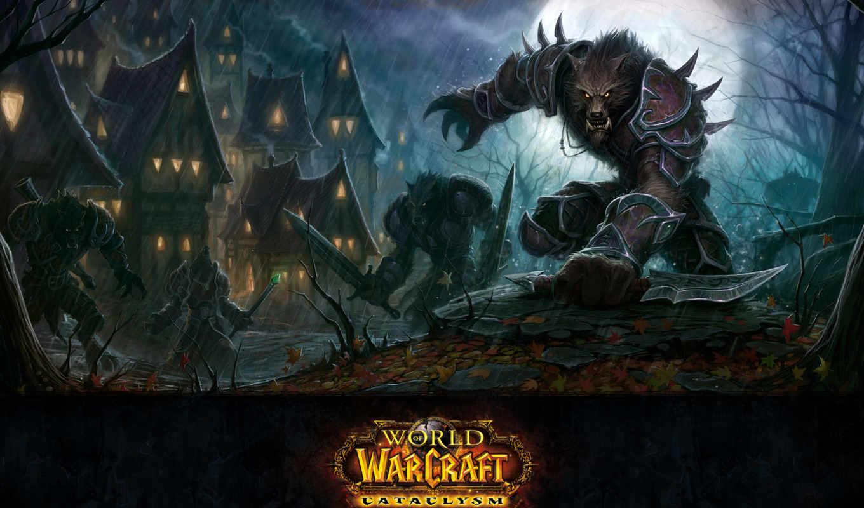 world, warcraft, cataclysm, wow, игры, worgen, от, blizzard, игре, mmorpg,