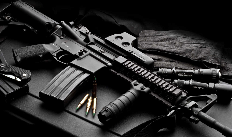colt, винтовки, weapon, автомат, desktop, military, bild, silah, resimleri, черный,
