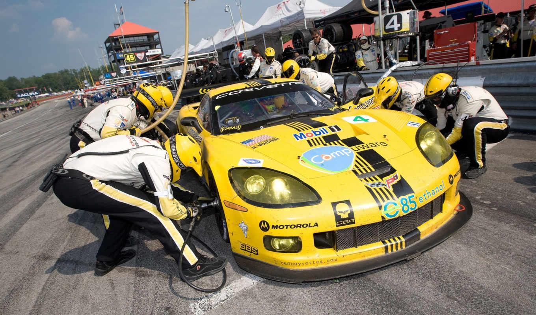 пит, стопе, corvette, картинка, sport, имеет, вертикали, горизонтали,