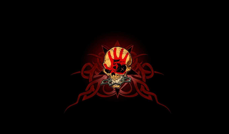 череп, kastet, pattern, смерть, пять, finger, punch, apple, цветы