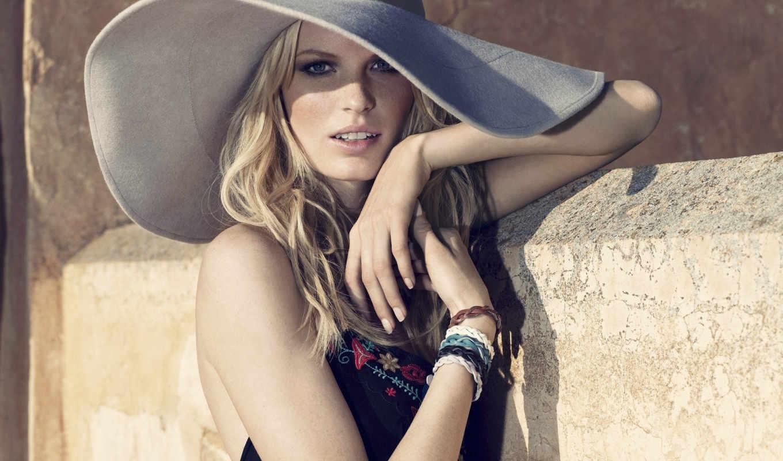 winberg, caroline, шляпа, девушка, винберг, каролин, модель, браслеты, блондинка, стиль, платье, downloads, hot, шляпе, hollywood, view,