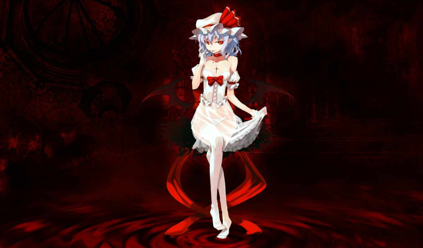 touhou, scarlet, remilia, games, аниме, forensic, video, добавил, vampires, collection, favorites,