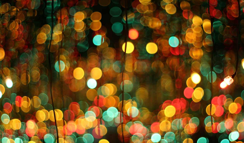 огоньки, огни, год, праздник, весело, new, positive, фон, страница, see,