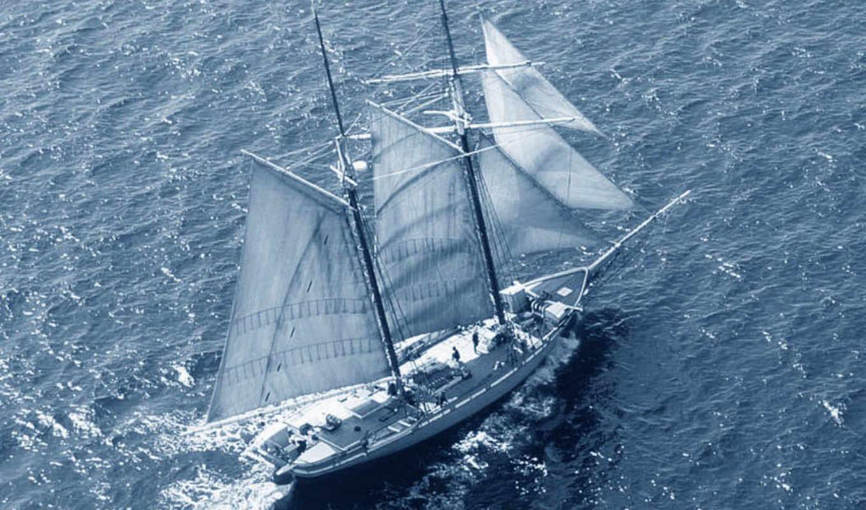 корабли, море, парусные,