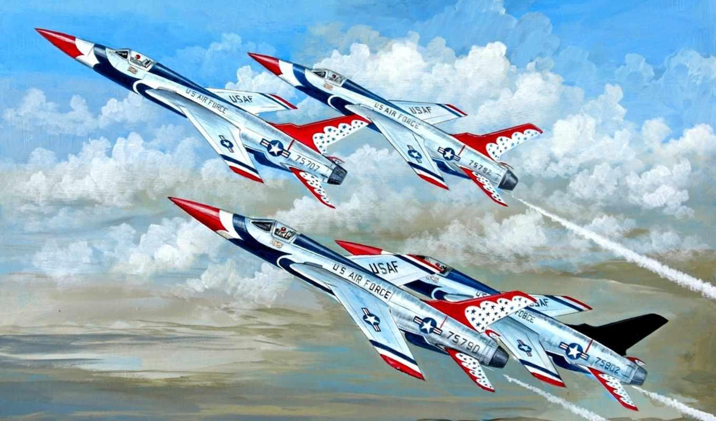 авиация, рисованные, самолеты, art,