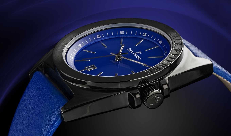 pierre, jack, blue, tech, leather, мар, металл, watch,
