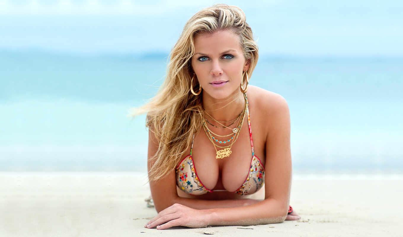 модель, girls, hot, decker, бруклин, sexy, photos, бикини, пляж, декер,