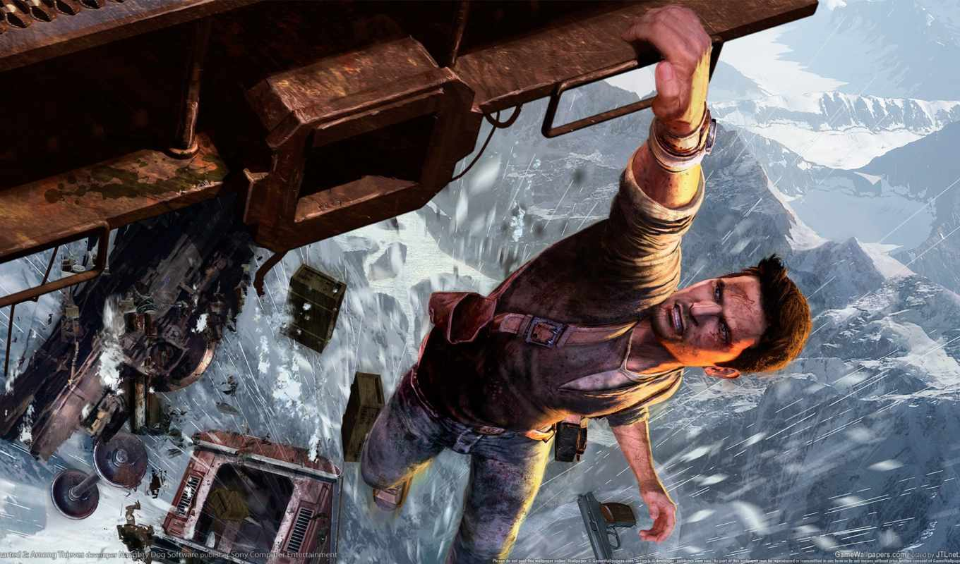 uncharted, thieves, among, поезд, game, youtube, drake, games,