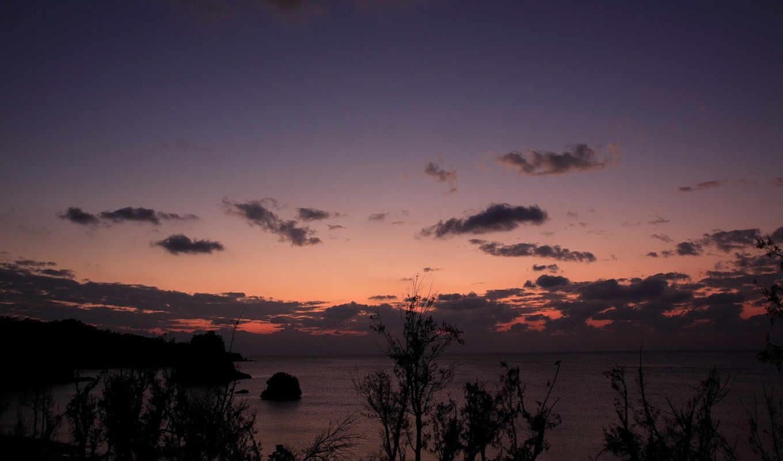 море, облака, вечер, закат, wallpapers, wallpaper, nature, смотрите, nightfall, похожие, sky, amazing, номером, монитора, экрана,