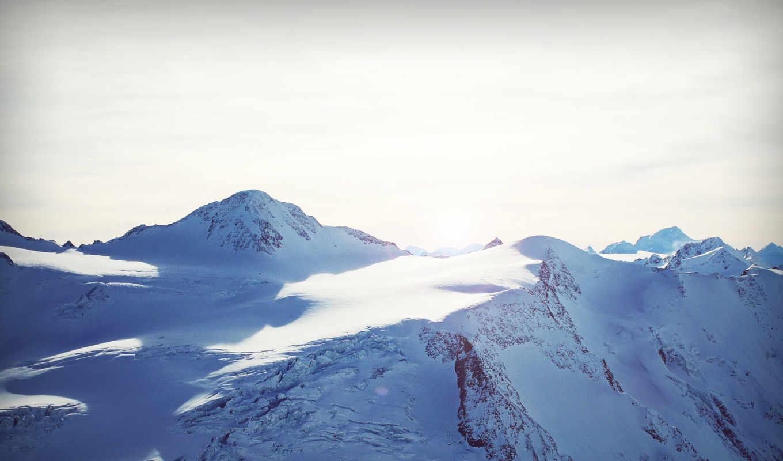 горы, видом, arctic,арктику,рисунки, фоновый, красивый,