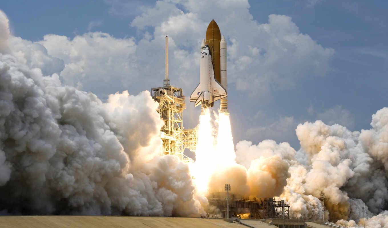 космос, шаттл, сша, наса, взлёт, картинка, звезда, галактика, планета, вселенная, картинку, atlantis, with, launch,