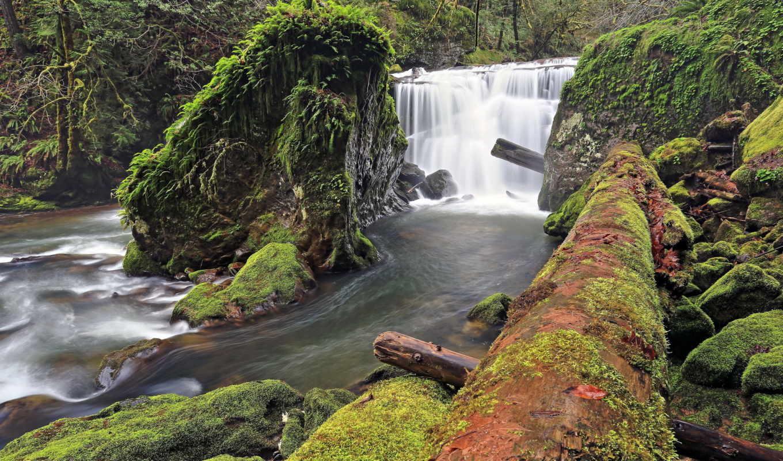 водопад, amazing, ipad,