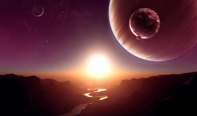 ,звезды, абстракция, планеты, космос,