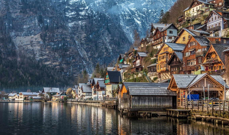 австрия, природа, качестве, разрешений, студентов, июнь, высоком, города, отличном,