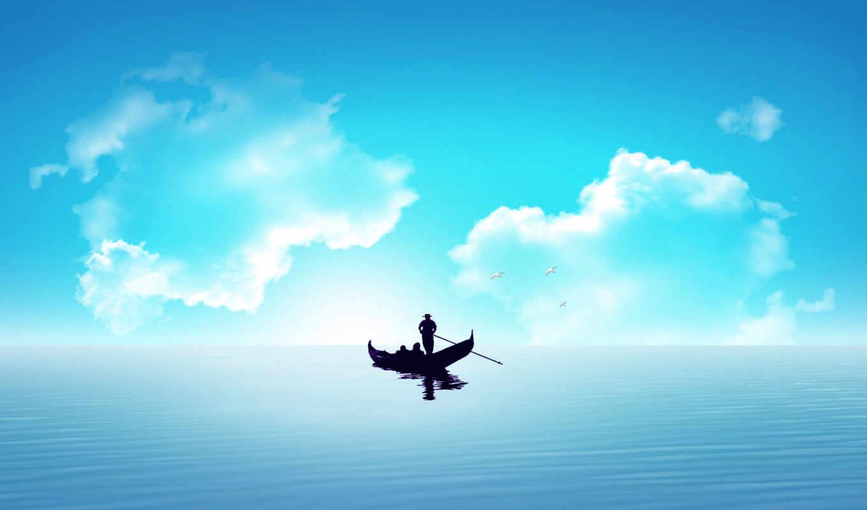 boat, , amore, fantasy, pescuitul, adriatica, abstract, desktop,