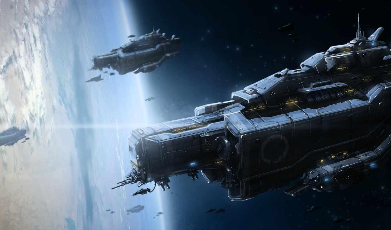 art, корабли, космос, planet, космические,