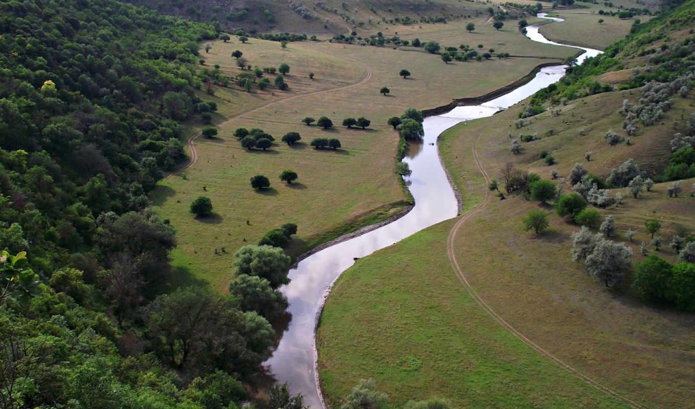 river, small,