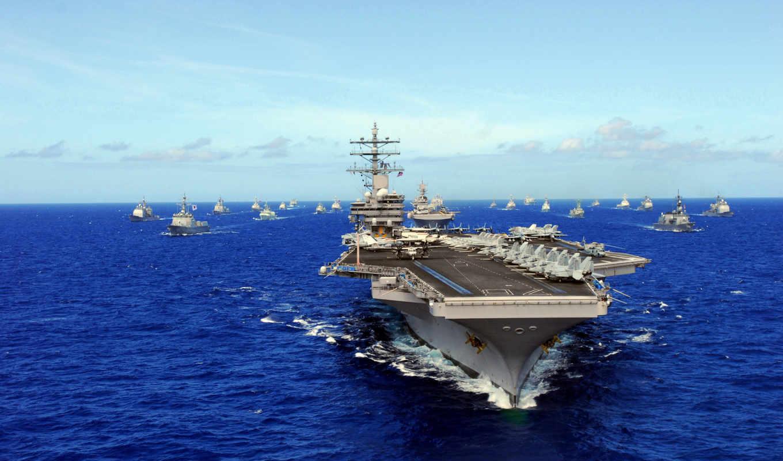 uss, авианосец, ronald, cvn, reagan, корабли, армия,