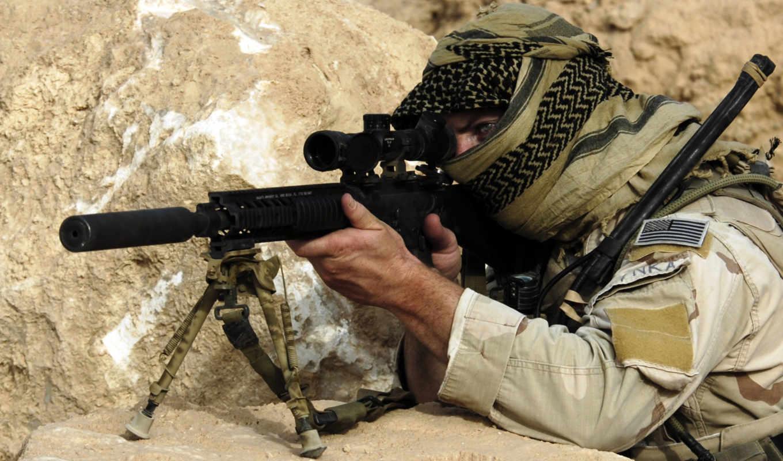 винтовка, марк, спец, mod, спецназ, purpose, united, американский, states, вмф,