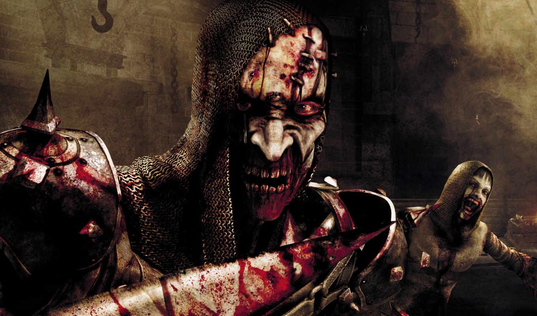 зомби, armour, кровь, ужас, jericho, clive, игры,
